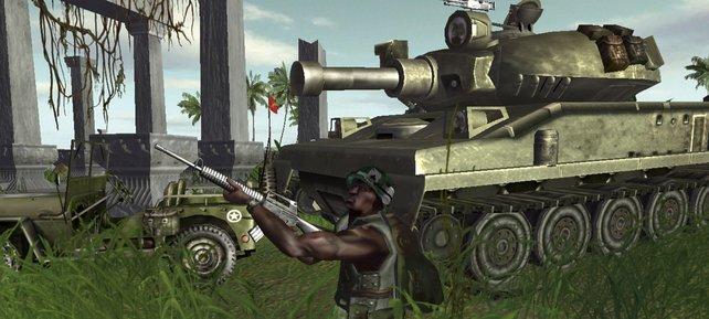 Auch der Vietnamkrieg bietet wieder groß angelegte Schlachten.