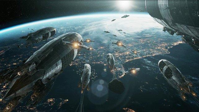 Weltraumkrieger haben gegen Mondnazis alle Hände voll zu tun.
