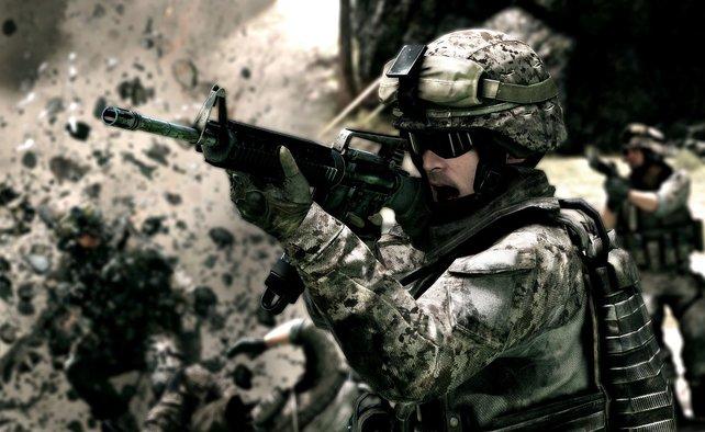 Battlefield 3 gilt als die derzeitige Grafikreferenz. Seine opulente Optik schreit fast nach neuer Hardware.
