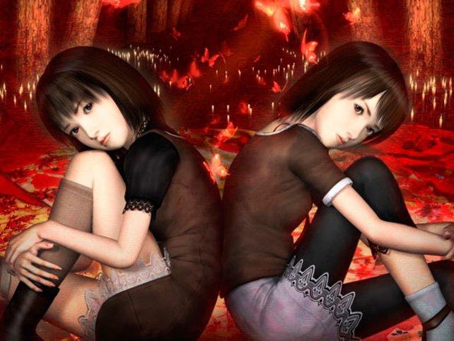 Die Zwillingsschwestern Mio (rechts) und Mayu erleben ihren schlimmsten Alptraum.