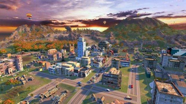Zoomt ihr nah genug heran, erkennt ihr das pulsierende Leben in eurer Stadt (Tropico 4).