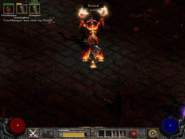Da hilft auch kein Höllenfeuer - Diablo muss sterben.