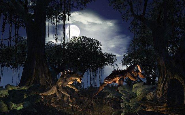 Einigen Bestien möchte man nachts nicht begegnen...