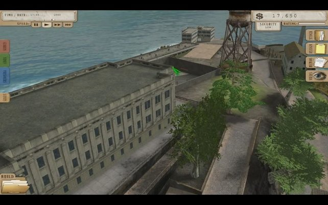 Die Gefängnisinsel sieht lieblos aus und bietet nicht einmal etwas zum Lachen. Was für ein Un-Spiel.