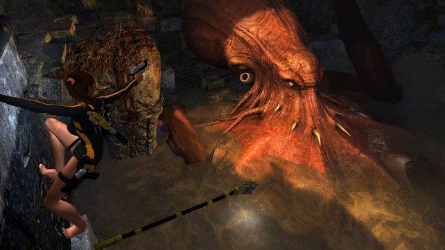 Angekündigt: Alle Tomb-Raider-Episoden von Crystal Dynamics in einer Kollektion. Im Bild: Tomb Raider Underworld.