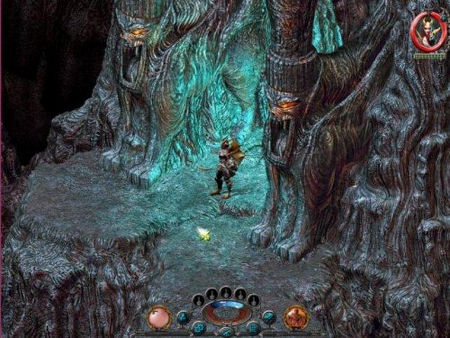 Kein sehr einladender Höhleneingang