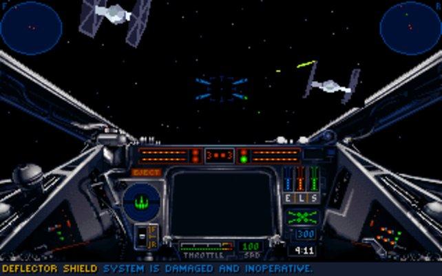 Im der Pilotenkabine eines X-Wings fühlt ihr euch wie Luke Skywalker höchstpersönlich.