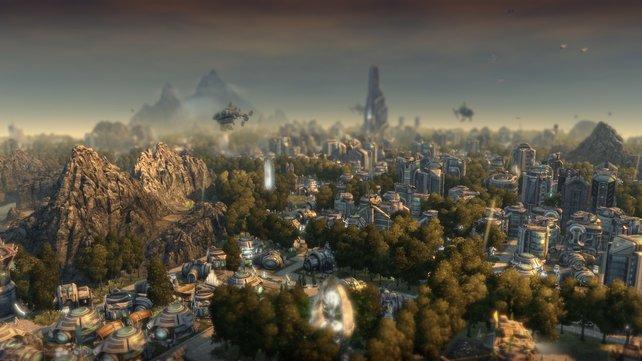 Städte der Genies wachsen nun ins Unermessliche.