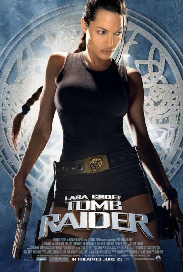 Lara Croft und ihre Abenteuer schaffen es zweimal in die Kinos.