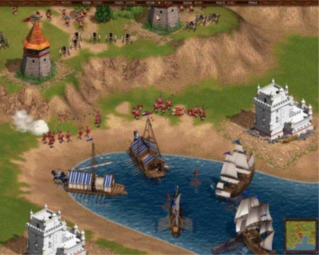 Spanier wehren einen Angriff algerischer Piraten ab