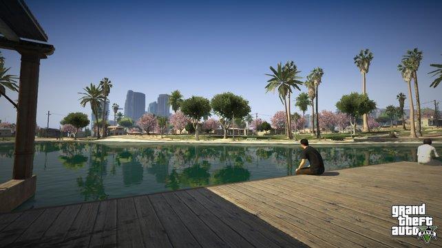 GTA 5 hat trotz massig Unterwelt-Action auch seine ruhigen Momente.