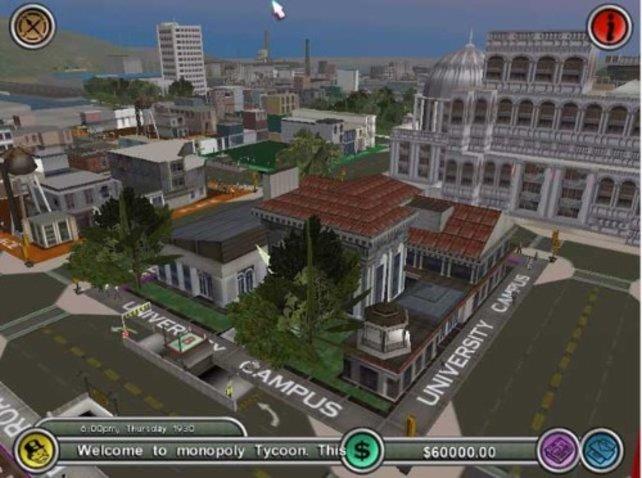 Die Stadt in der 3D-Ansicht