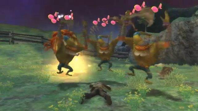 Liegen Helden tot im Gras, haben Monster ihren Spaß!