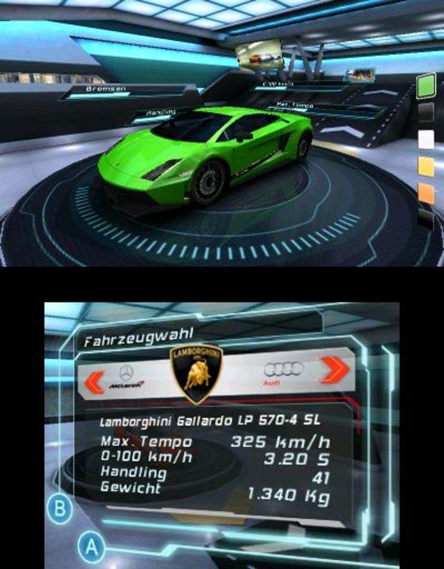 Dieser Lamborghini steht euch im späteren Spielverlauf zur Verfügung.