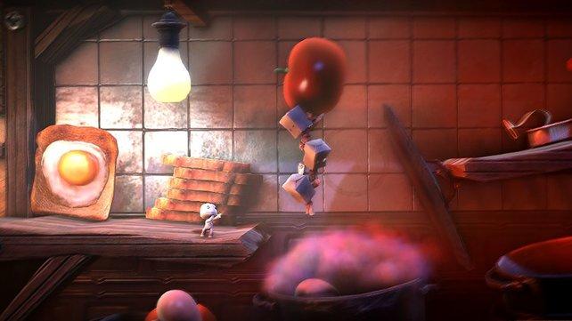 Eines der größten Spiele für PS Vita: Little Big Planet.
