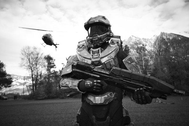 Im kleinen Fürstenstaat Liechtenstein stimmt der Master Chief auf Halo 4 ein.