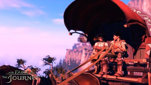 Gabriel und Theresa machen sich auf eine Reise voller Gefahren.
