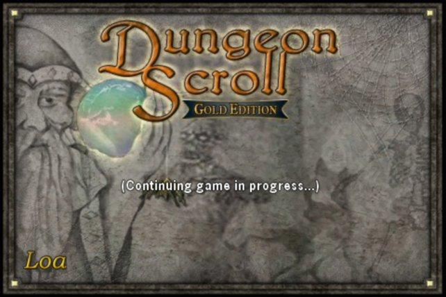Grafisch eher unauffällig: Dungeon Scroll