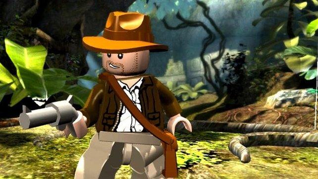 Auch als Lego-Figur unverkennbar: Indiana Jones.