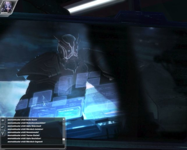 Xylan flößt sich die E-DNS ein und wird zum Anführer der Darkspores.