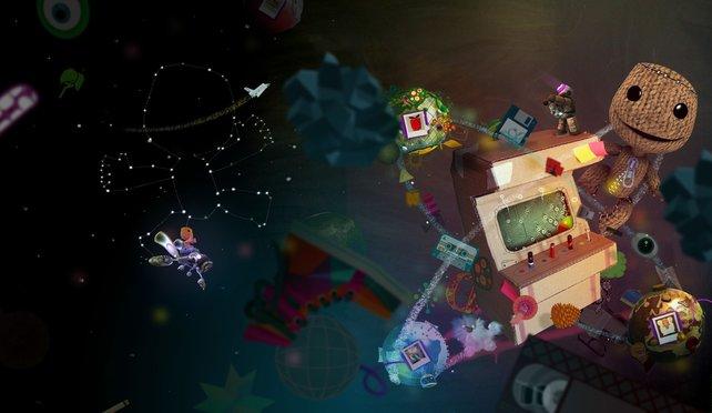 Spiel der Spiele? Mangelnde Ambition kann man Little Big Planet 2 keinesfalls vorwerfen.