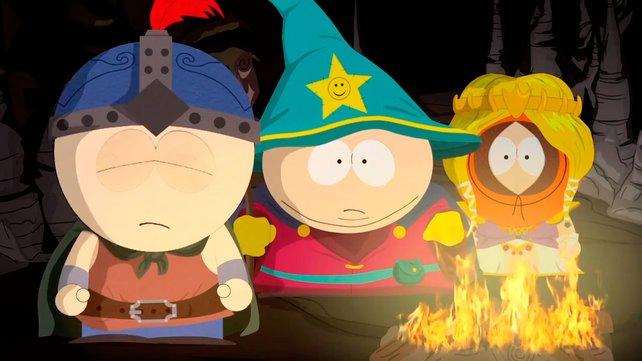 Das Rollenspiel mit den besten Dialogen? Cartman (Mitte) legt es sicherlich darauf an.