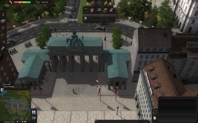 """""""Berlin, Berlin, wir fahren nach Berlin!"""": Die Hauptstadt ist auch virtuell vorhanden."""