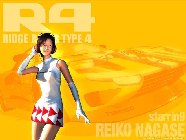 Reiko Nagase hat manch einem Rennspielfreund in den 90er Jahren schlaflose Nächte bereitet.