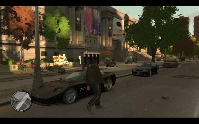 Gutes Wetter, gute Stimmung: Mit dieser Modifikation leistet Petrus in GTA 4 einen guten Job.