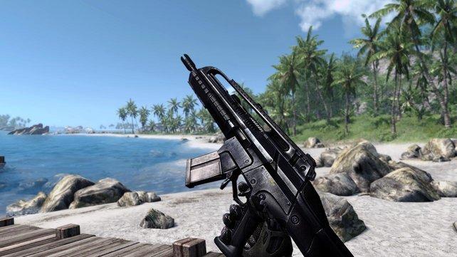 Ein Hinweis: Dieses Bild stammt aus Crysis. Aus einem Videospiel. Das ist kein Foto aus dem echten Leben.