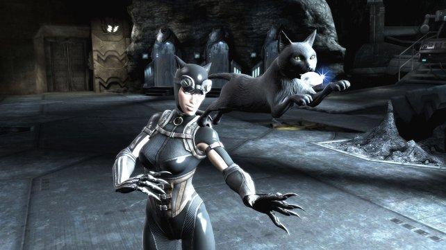 In diesem Spiel ist nicht nur Catwoman schön.