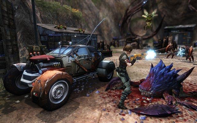 Defiance bietet eine missionsbasierte Kampagne und Bonusaufgaben in einer offenen Welt.