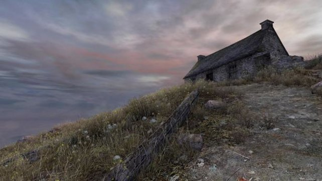 Die raue Landschaft sieht beeindruckend aus.