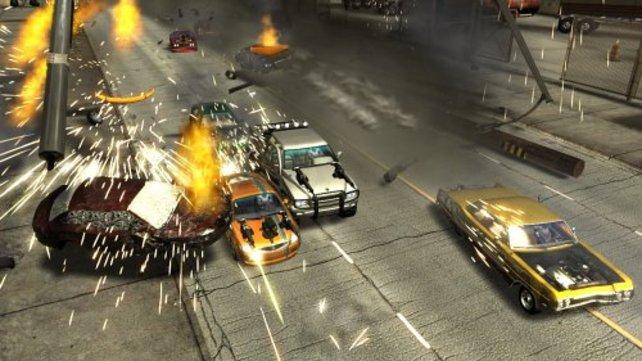 Ein typischer Crash