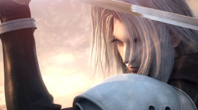 Ja, so toll kann PSP-Grafik aussehen. Sephiroth beweist es.