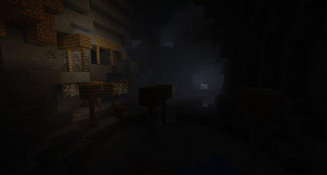 In den dunklen Verliesen lauern überall Gefahren - packt Fackeln ein!