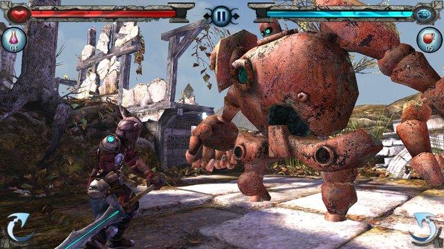 Großartige Grafik und actionreiche Kämpfe bringen viel Spielspaß.