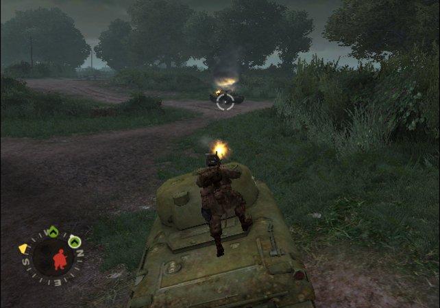 Darf nicht fehlen: Ein Ausflug mit dem Panzer.