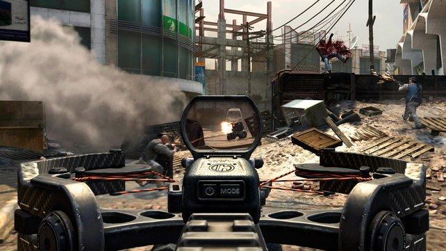 """Das sogenannte """"Boot Camp"""" bringt Einsteigern die Spielmechanik der Online-Duelle nahe."""