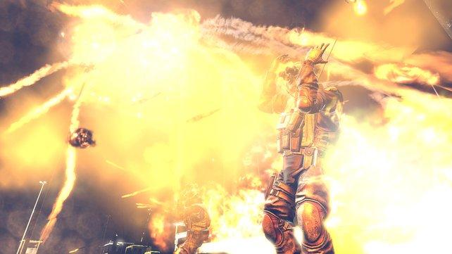Gewissenskonflikt: Den Feind brennen lassen oder erlösen?