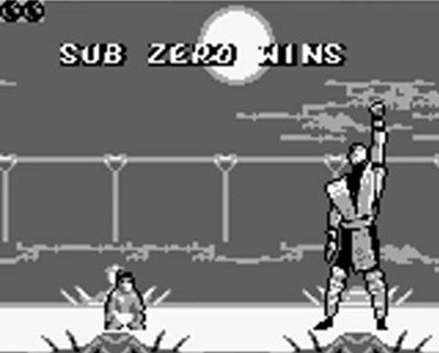 Leicht zu erkennen: Mortal Kombat auf dem GameBoy.