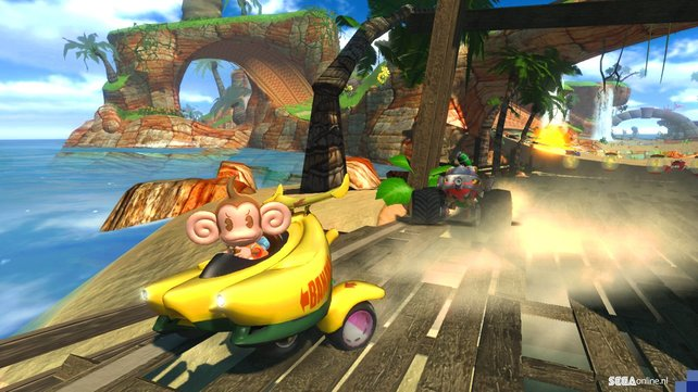 AiAi macht im Bananenmobil eine super Figur.