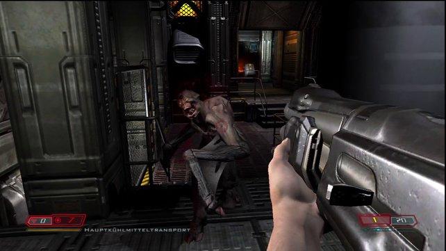 Der Spielablauf von Lost Missions orientiert sich in puncto Tempo stark am ersten Doom.