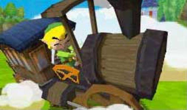 Der Held zahlloser Abenteuer ist nun Lokführer.