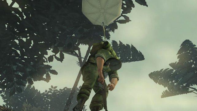 Flieg, kleiner gefangener Soldat!
