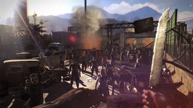 Dying Light versetzt euch aus der Ego-Perspektive in eine Welt voller Zombies.