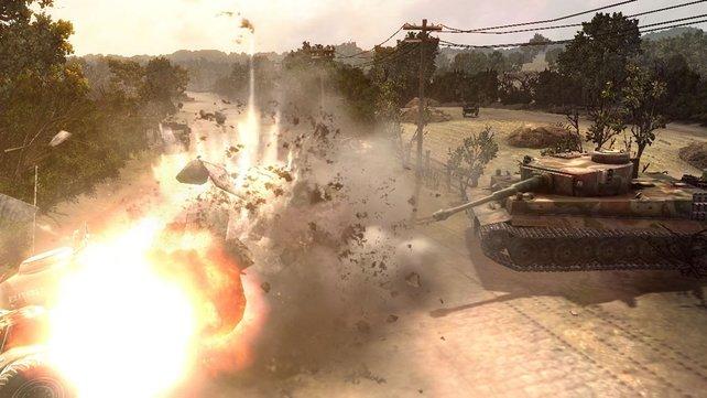 Die Gefechte werden detaillierter und farbenfroher.