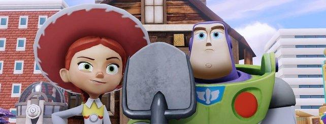 Disney Infinity: Autorennen, Hüpfspiele und Flipper im Video