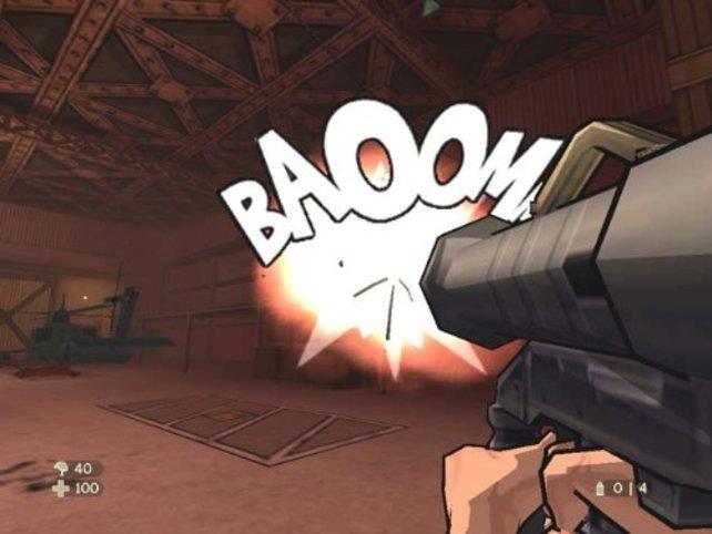 Wie macht die Bazooka? BAOOMM