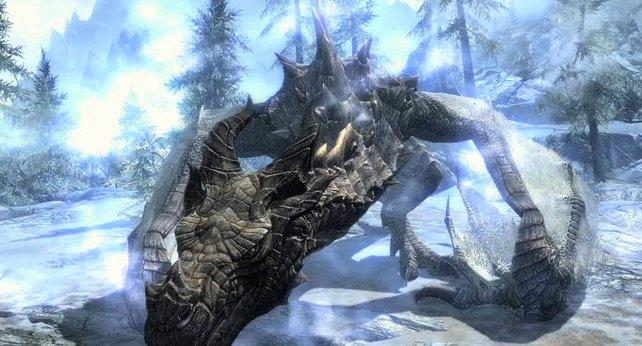 Solche Drachen wollen euch an den Kragen. Sieht gefährlich aus.
